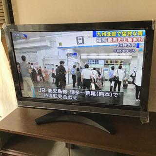 日立 W o o o 37型テレビ HDD内蔵