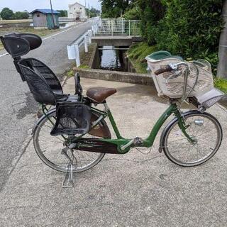 ブリヂストン子乗せ自転車アンジェリーノアシスト無し