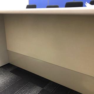 事務机 ×2 オフィス 事務用椅子×4  事務所 直接引取