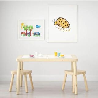 IKEA イケア 子供用 テーブル & ベンチ フリサット