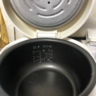 (交渉中)炊飯器 3号炊き