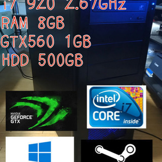 i7 GTX560 ゲーミングPC