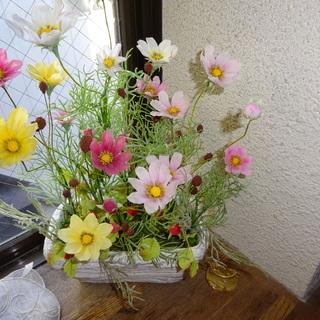 クレイフラワー教室ミモザ 粘土でお花をつくりませんか?