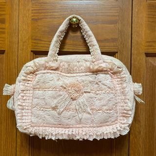 フリルレース ハンドバッグ カバン 鞄