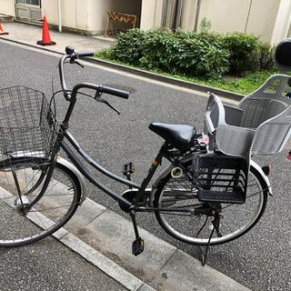 【中古】26インチ 自転車オートライト