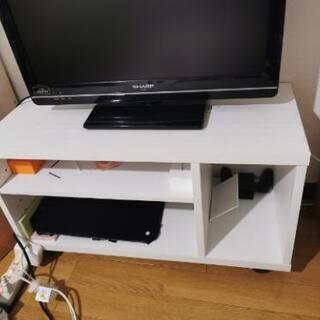 テレビ台 白