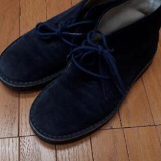 マーガレットハウエル スウェード 革 靴 スニーカー 23cm ...