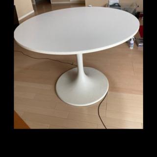 7月7日まで激安‼️おしゃれな白いテーブル 白の木製天板