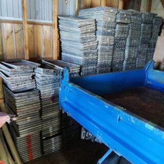 塩ビ管 育苗箱の処分