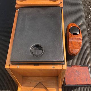決まりました!「木製のBOX  」!車で使用して居りまし…