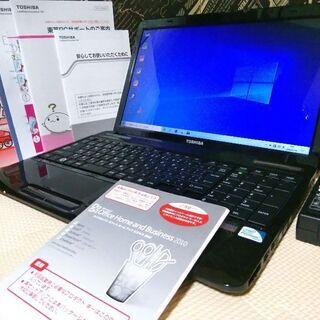 綺麗東芝☆爆速SSD128GB Windows10 正規MSOf...