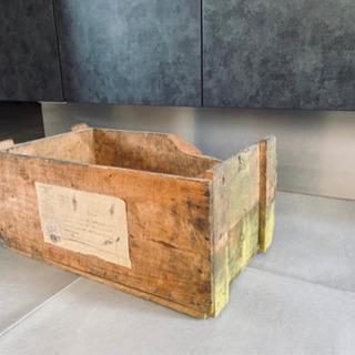 アンティーク 木箱 ヴィンテージ 古い レトロ ビンテージ トラ...