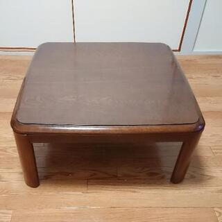 【無料】テーブル (家具調こたつ風)