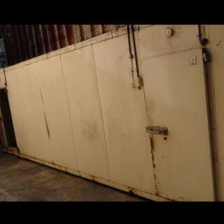 プレハブ冷蔵庫 2坪 4坪(箱のみ)