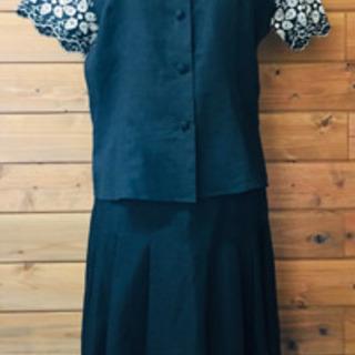 綿100% 半袖 セットアップ 日本製 ネックレス付き