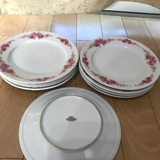 141、昭和時代のASAI  CHINAの皿 9枚
