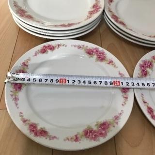141、昭和時代のASAI  CHINAの皿 9枚 - 生活雑貨