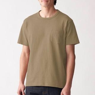 【無印良品】太番手 天竺編みポケット付き半袖Tシャツ  2枚セット☆ - 周南市