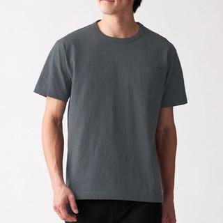【無印良品】太番手 天竺編みポケット付き半袖Tシャツ  2枚セット☆ - 服/ファッション