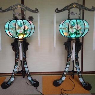 盆提灯 回転式