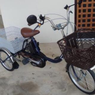 電動アシスト三輪自転車パナソニックビビライフ