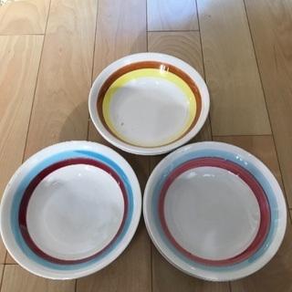 143、昭和レトロなお皿(JAPAN) 5枚