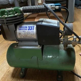 ホルベイン社トリコン コンプレッサー33T&エアブラシ HOLB...