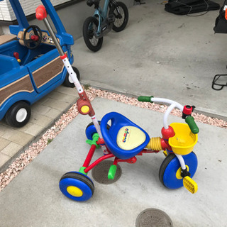 降りたたみの三輪車