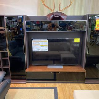 R246 高級ファニチャードーム 壁面収納テレビボード 4体 タ...