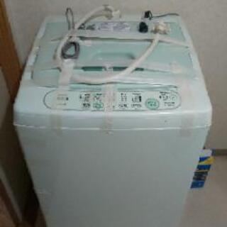 TOSHIBA 縦形洗濯機 2005年製 4.2キロ