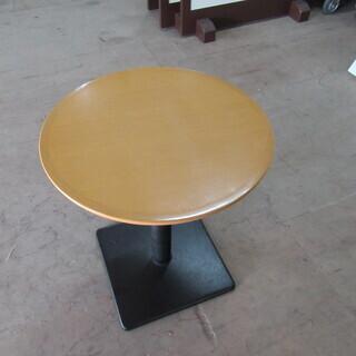 シンプルなバーテーブル(角足)