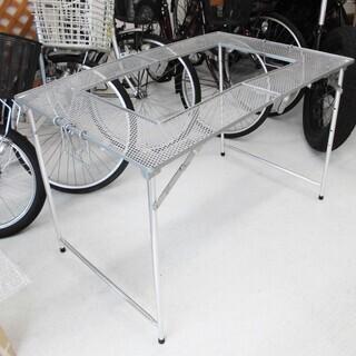 マルチテーブル バーベキューコンロ用 折畳み式 間口:102×奥...