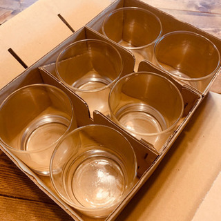 丸形グラス6個セット 05109