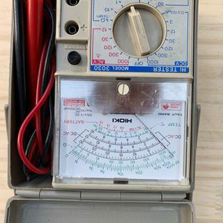 電気アンペア計測器