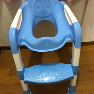 美品!数回のみ使用 子ども用トイレ 踏み台