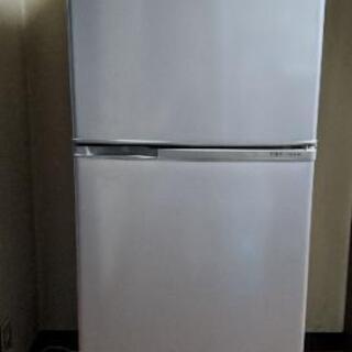 2ドア冷蔵庫(中古)2013年製