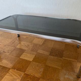 ブラッククリアテーブル