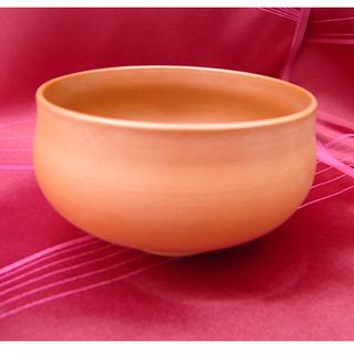 札幌【茶器⑥】素焼き 直径12cm 茶碗 陶器 食器 茶道具 本...
