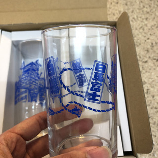 相撲土産のグラスセット