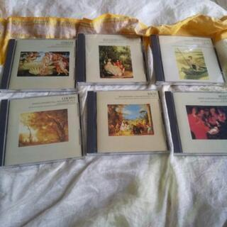 CDが6枚です。クラシックです。
