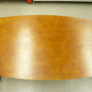 折りたたみテーブル 木製 ブラウン 幅90cm 折り畳み 札幌 西岡店