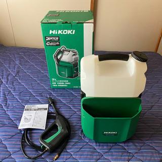 HiKOKI[日立工機] 18Vコードレス高圧洗浄機AW18DB...