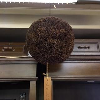 手作りの杉玉(酒林 さかばやし) 直径30cm~35cm 複数あ...