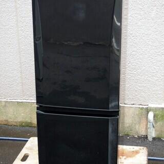 ⑰【6ヶ月保証付】17年製 三菱 146L 2ドア冷蔵庫 MR-...