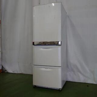 三菱電機 3ドア冷蔵庫 MR-CU33J-W1 自動製氷 330...