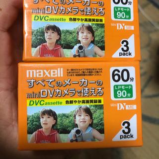 miniDVカメラ用テープ - 家電