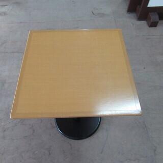 小型角型バーテーブル(丸足)