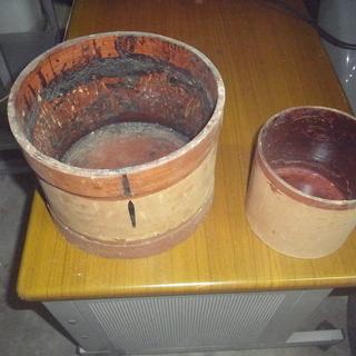 レトロ 漆桶(古品)