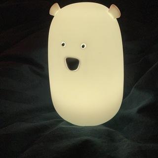 シロクマの間接照明