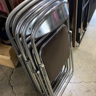 パイプ椅子5脚セット! コクヨ ミーティングチェア 折り畳み パ...